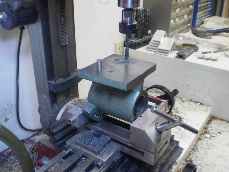 Dave Lers Workshop Metalwork Mini Mill Spin Indexer