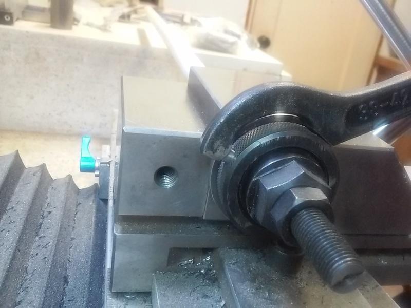 Dave Lers Workshop Metalwork Mini Mill