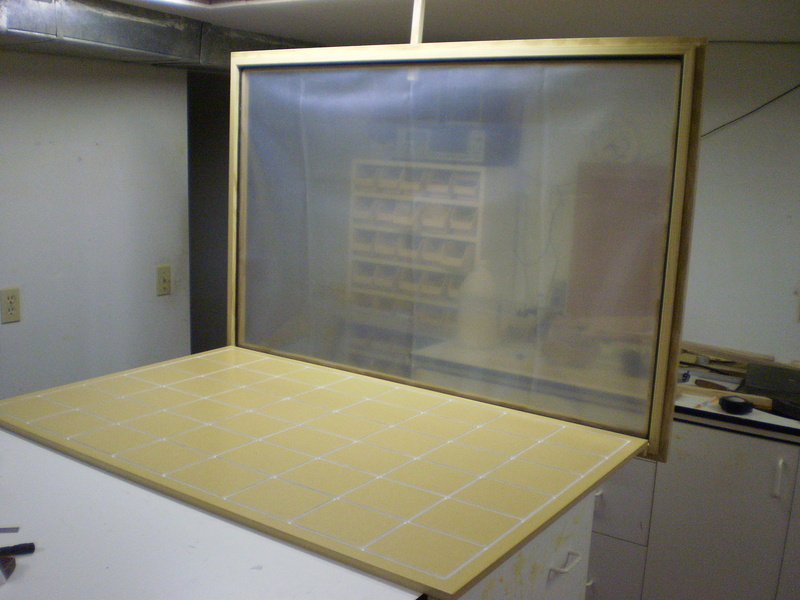 Dave Lers Workshop Veneering Presses 3x4 Vacuum