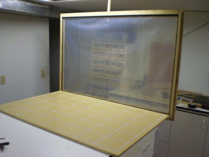Dave Lers : Workshop : Veneering : Presses : 3x4 Vacuum